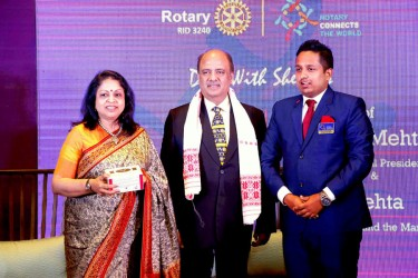 Rotary marks a presence in Arunachal with a Rotaract club